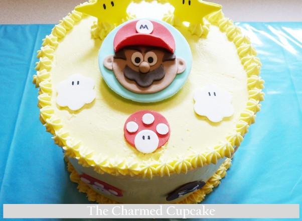 Mario Brothers Cake The Cupcake Gang The Charmed Cupcake