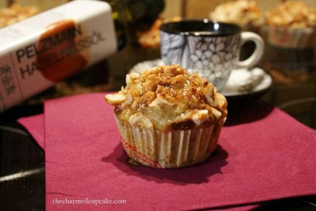 hazelnut, banana & coconut cupcakes