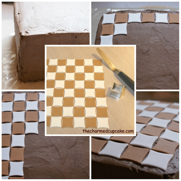 making of the chess board