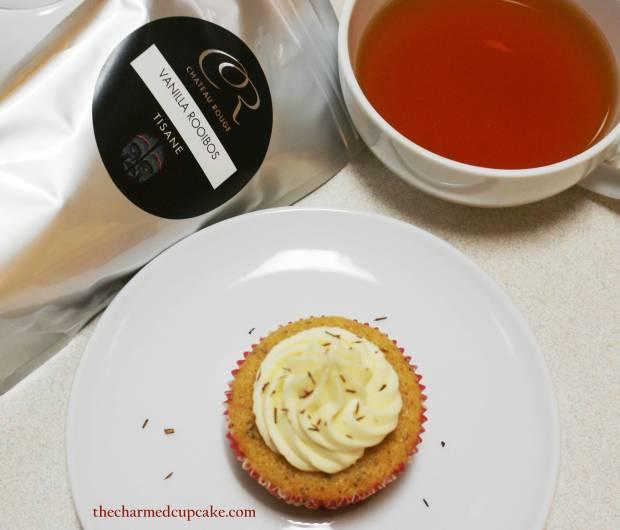 5 CR Vanilla Rooibos tea & cupcakes