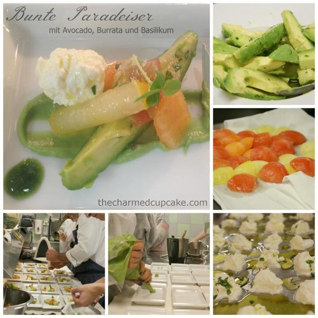 Bunte Paradiser dish