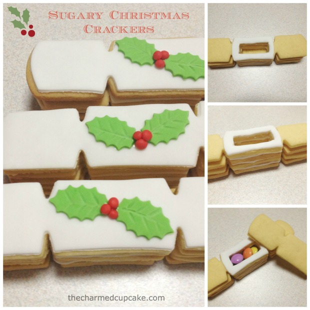 Sugary Christmas Crackers Collage