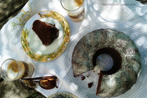 thecharmedcupcake_chocolate_coffee_gugelhupf 9