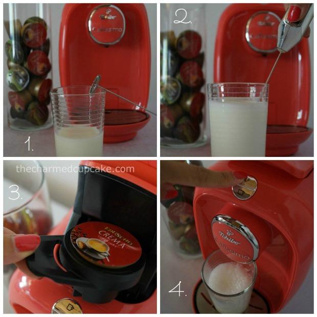 thecharmedcupcake_Tchibo Cafissimo PICCO latte Collage 1
