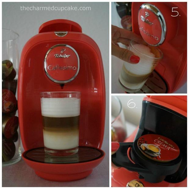 thecharmedcupcake_Tchibo Cafissimo PICCO latte Collage 2